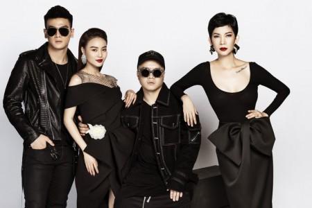 Bộ tứ giám khảo quyền lực tham gia chọn người mẫu cho fashion show SIXDO