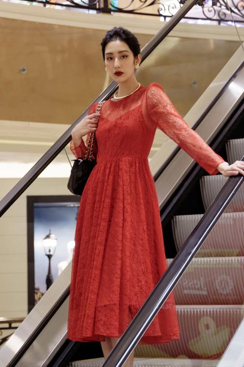 Sixdo Long Sleeves Dress
