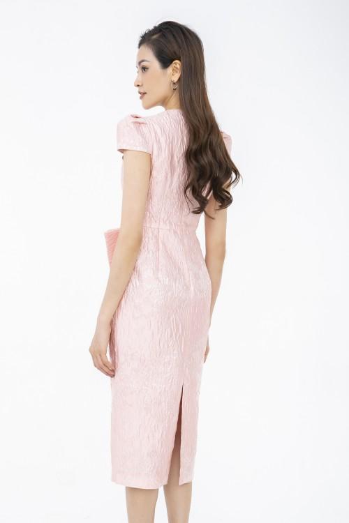 Sixdo Nancy Dress With Bow