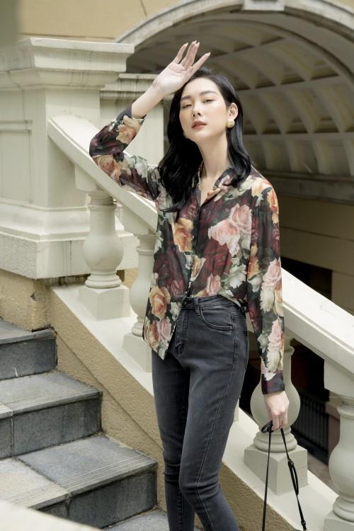 Sixdo Agnes Rose Shirt